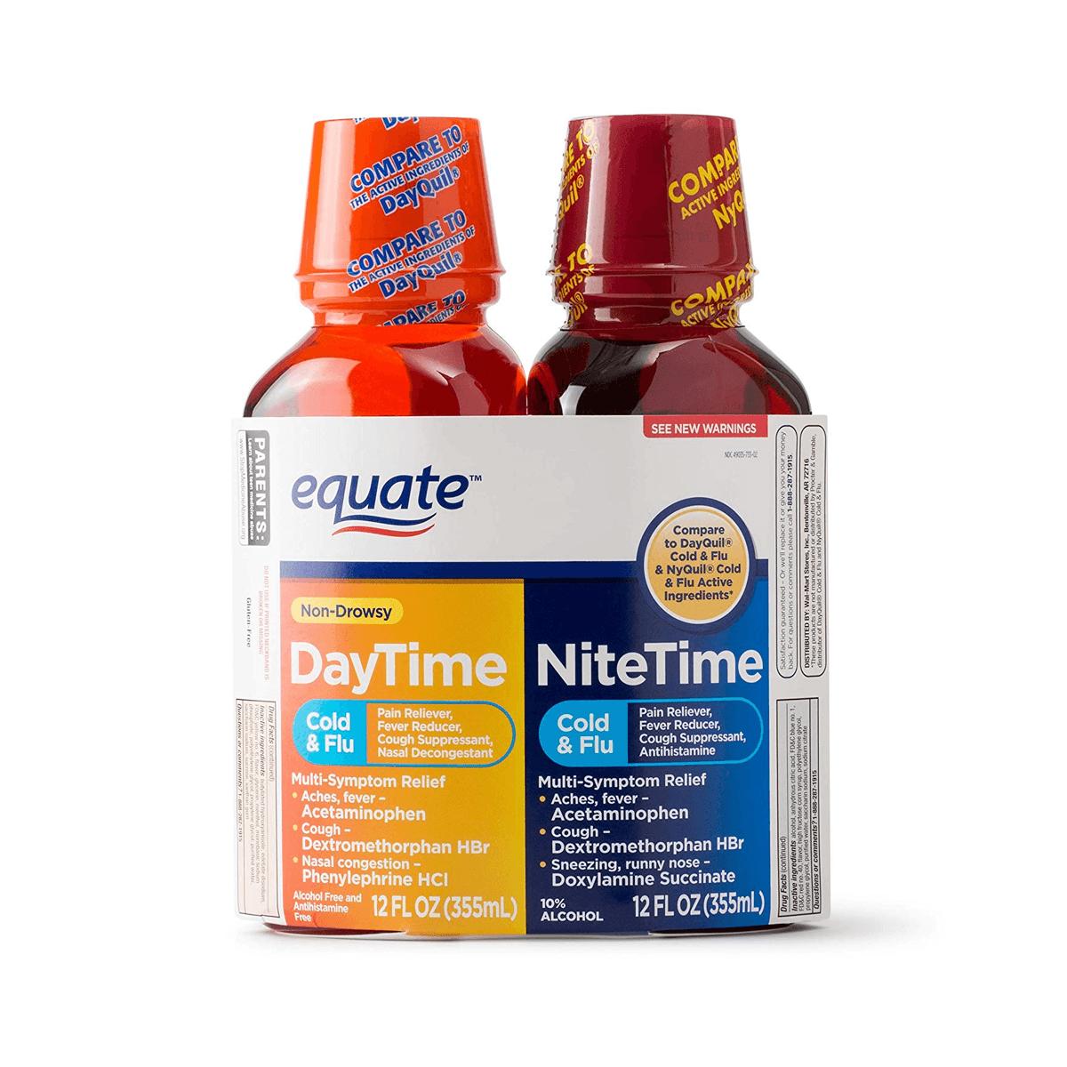 Equate Cold Multi-Symptom DaytimeNighttime (2)
