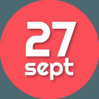 27 sep