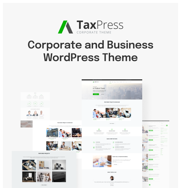 TaxPress - Consulting Services WordPress Theme - 2