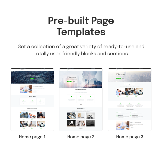 TaxPress - Consulting Services WordPress Theme - 3