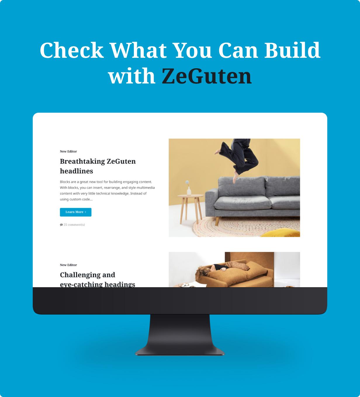 ZeGuten —  Gutenberg Blocks - 3