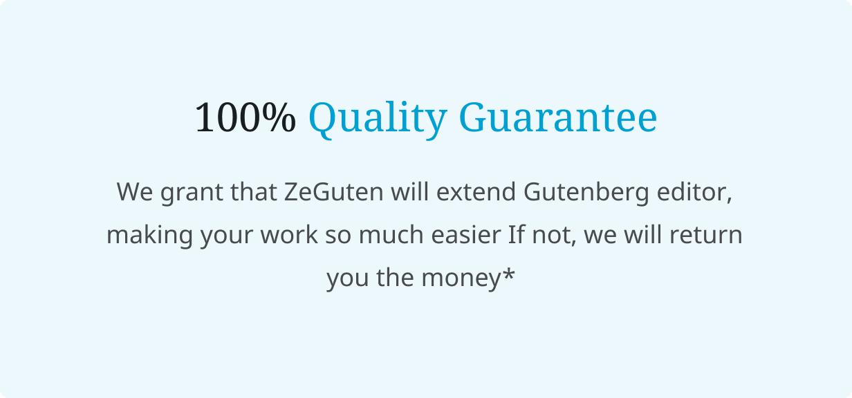 ZeGuten —  Gutenberg Blocks - 7