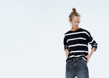 JEANS ZW PREMIUM BOOTCUT CROPPED VICTORY BLACK